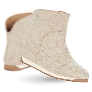 Emu Australia Harper Mini Wool Boots Tan 7
